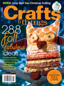 Fall Crafts n Things magazine cover