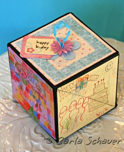 Sizzix Triple Play Blog Hop Week 2:  3D Twist Cube