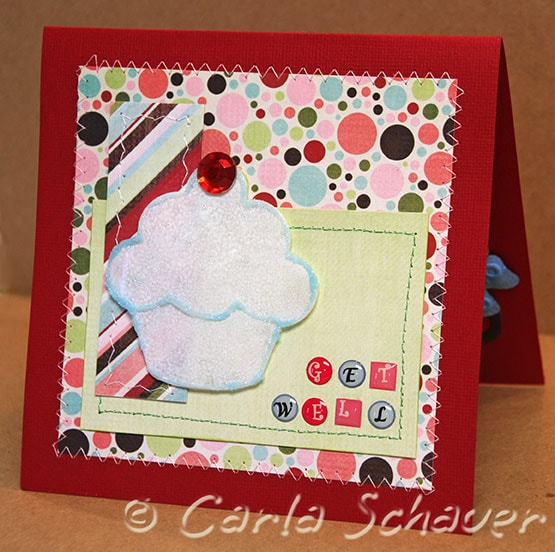 sizzix pop up 3d gift card holder front