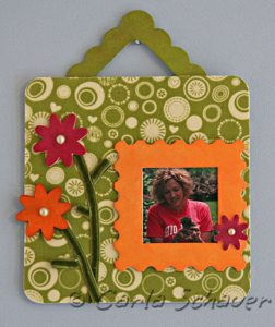 Sizzix Triple Play Blog Hop:Hanging Frame