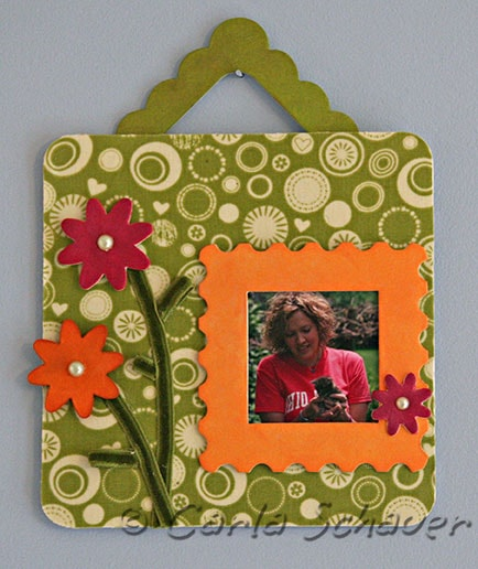 Sizzix Eileen Hull Frame wall hanging