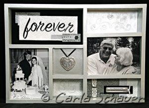 Wedding Shadowbox