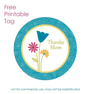 Free Mothers' Day Printable Tag–Tag Tuesday