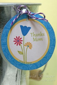 free Mother's Day gift tag by carla schauer