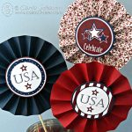 Patriotic Party Medallions