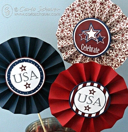 July 4th Free Printable party decor