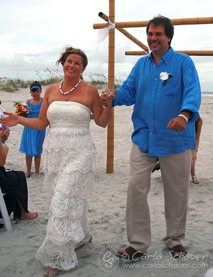 Beach wedding Laura and Ryp