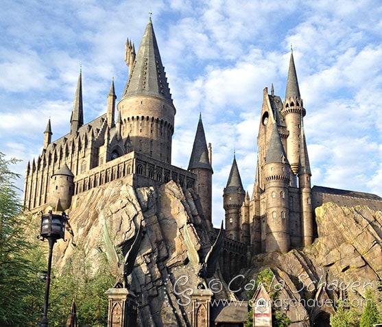 Harry Potter Hogwarts Castle at Universal Studios IOA