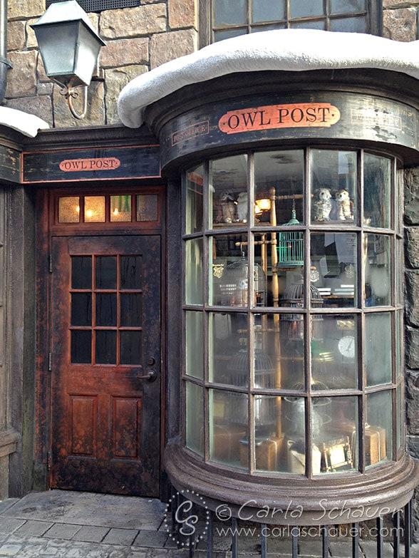 Harry Potter Owl Post at Islands of Adventure Orlando