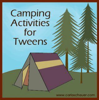 Camping Activities for Tweens