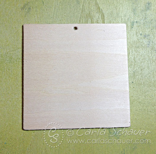 Wood tags for craft embellishment and decoupage