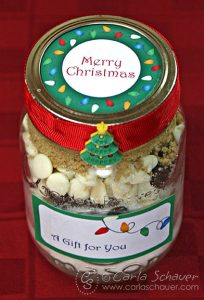 Free Printable Christmas Lights Canning Jar Labels