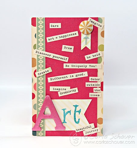 Creative Inspiration Art Card from Carla Schauer Designs