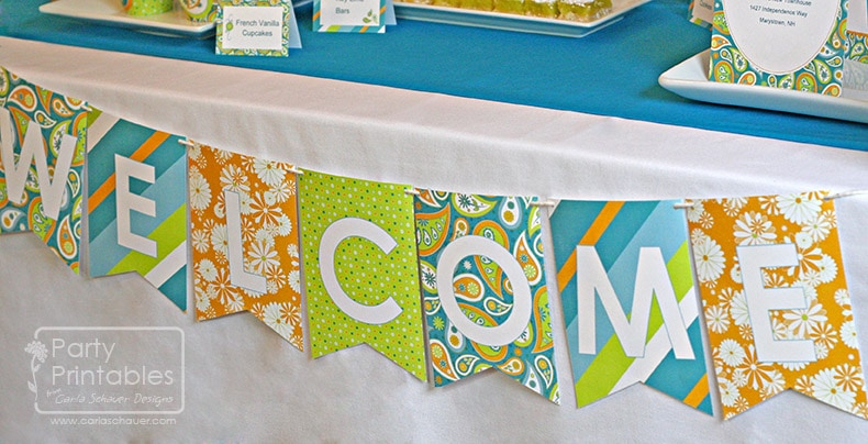 printable welcome banner
