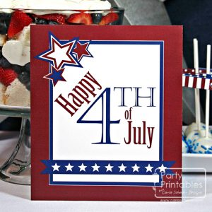 Stars & Stripes–New Party Printables!