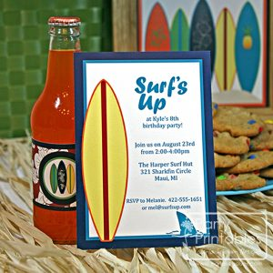 Surf's Up Hawaiian Surfer products from Carla Schauer Designs