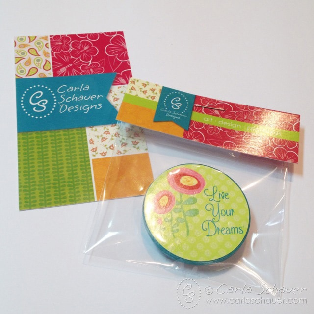 Business cards and giveaway- Carla Schauer Designs at SNAP!