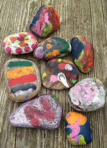 Campfire Wishing Stones Craft