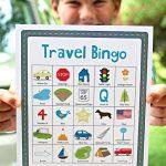 Travel Bingo for Kids