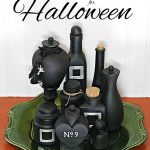 Decorate Halloween Potion Bottles with Paint