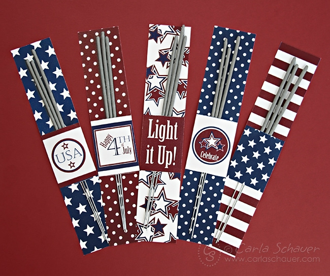 Free Patriotic Sparkler Holder Printables from Carla Schauer Designs. This set coordinates with another free printable patriotic project, and a full Stars & Stripes printable party!