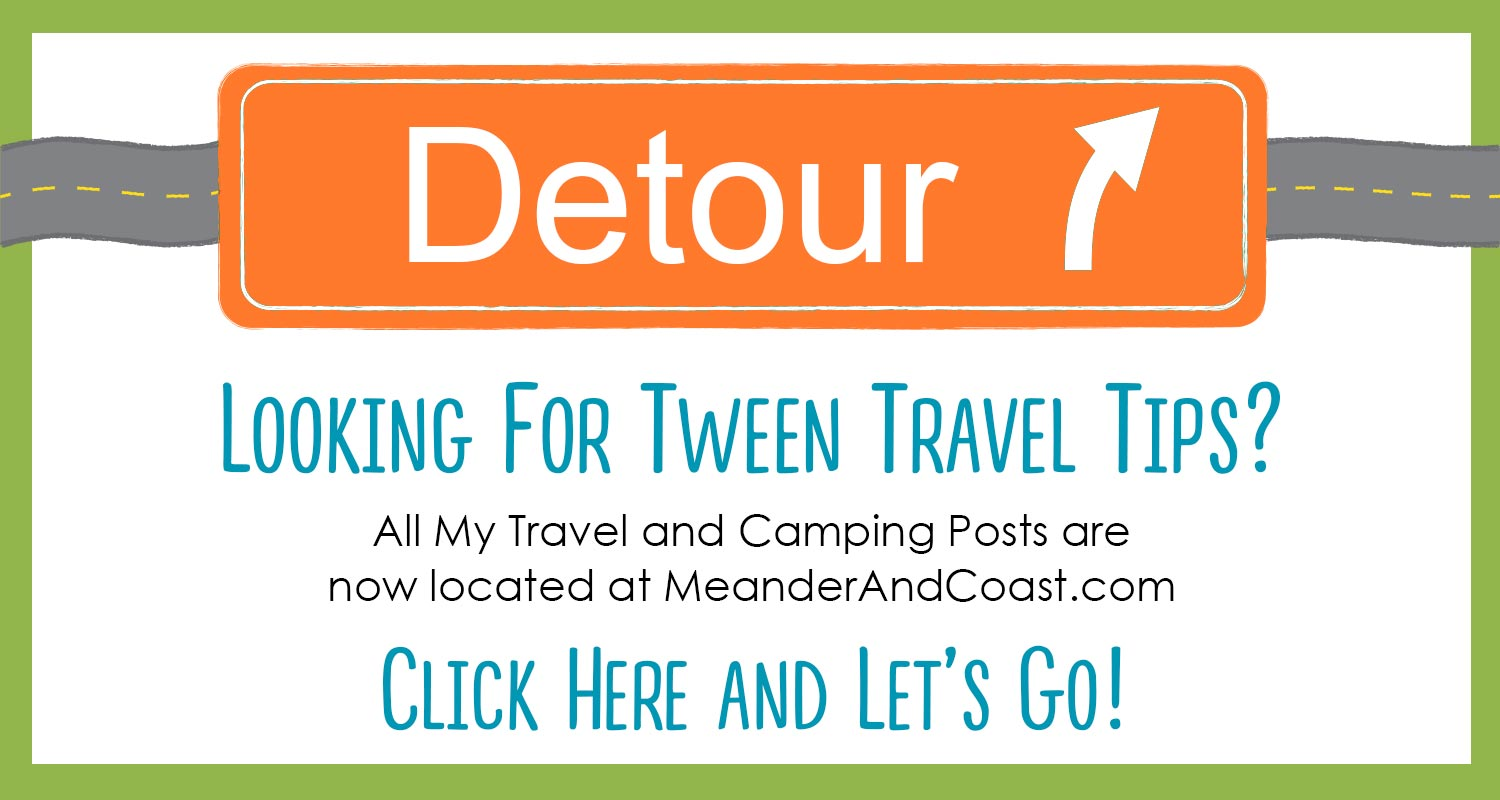 Tween Travel Tips are now located at Meander & Coast.
