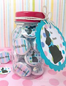 Funny Chocolate Bunny Printables‐Kiss Labels