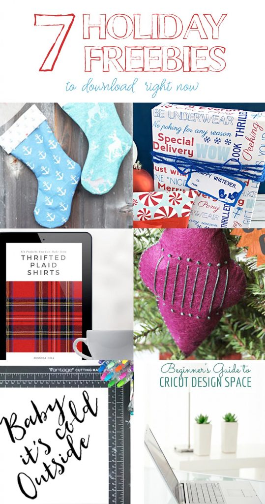 7 free holiday downloads you can use to make your days merry and bright!