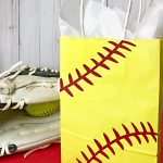Softball Laces SVG: DIY Team Gift Bags