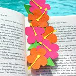 Make a Summer Floral Bookmark using Hibiscus SVG