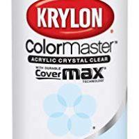 Krylon K05130107 ColorMaster Acrylic Crystal Clear, Gloss, Clear, 11 oz.