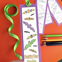 Printable Halloween Bookmarks for Coloring