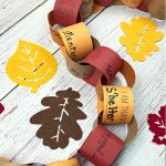 Gratitude Chain-A Printable Thanksgiving Activity for Families