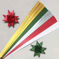 Paper Strips for Moravian Stars, German Stars and Frobel Stars.