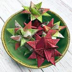 How to Wax Dip and Glitter Paper Ornaments
