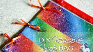 Magical DIY Makeup or Binder Supply Bag