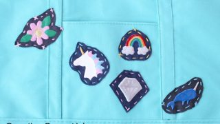 How to Make Patches from Recycled Jeans