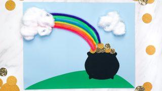 Pot Of Gold & Rainbow Craft