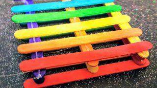 Rainbow Coaster DIY