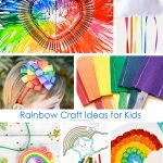 Rainbow Crafts for Kids: 51 Ideas to Make