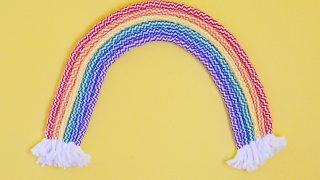 Rainbow Art DIY | Easy Wall Art Tutorial