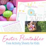 Free Easter Activity Printables