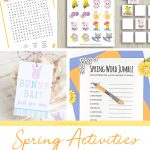 Spring Printable Activities for Kids