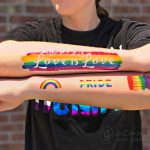 Make DIY Pride Temporary Tattoos