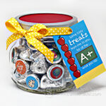 Quick Teacher Appreciation Candy Jar Gift