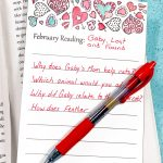 This Cute February Reading Log Makes an Easy Valentine Craft